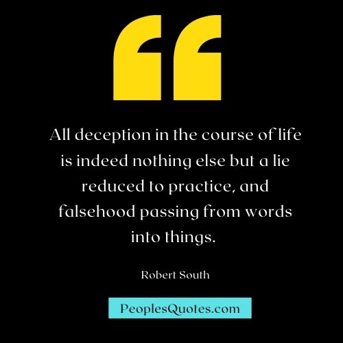 Quotes on Deception and Manipulation