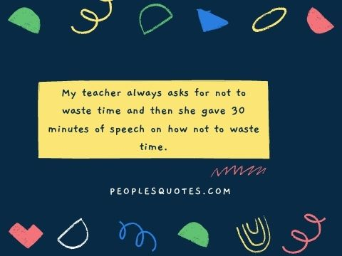 Funny Quotes About School Life with Images