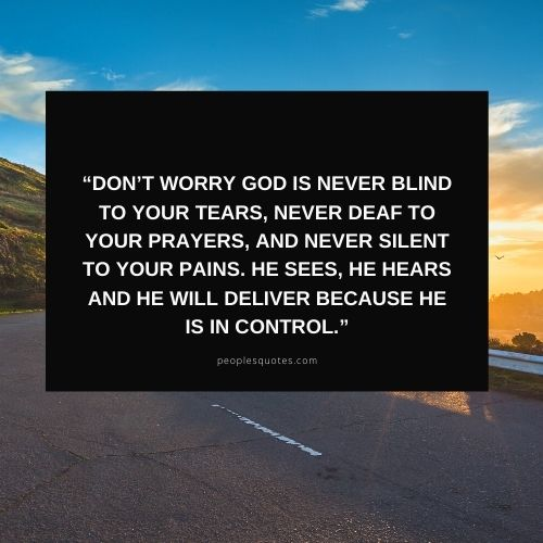 God is in Control Quotes and Pictures