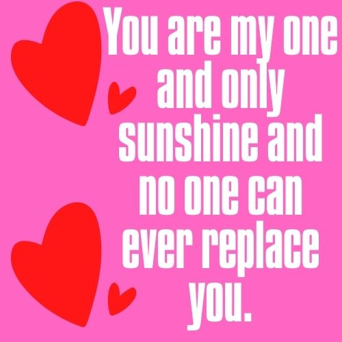You are my sunshine picture quotes