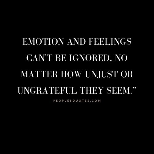 Short Quotes on Emotions and Feelings