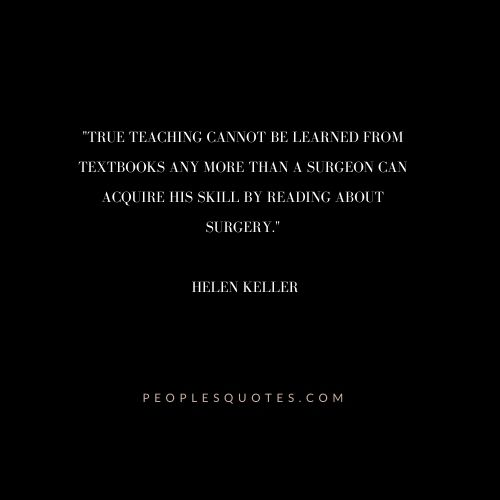 Helen Keller Quotes on Education