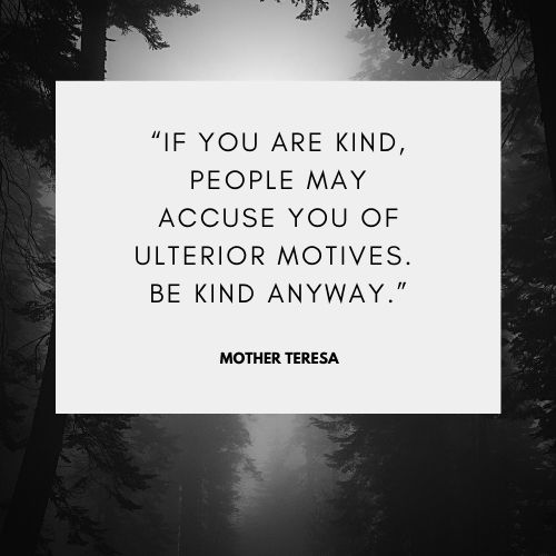 Mother Teresa Famous Quotes on Kindness