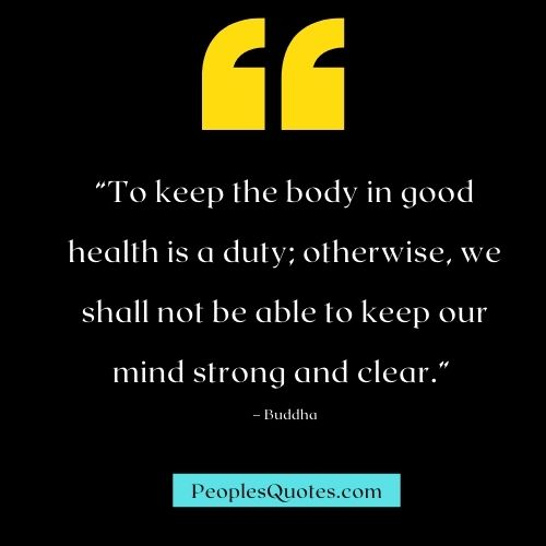 Inspirational Buddha Quotes for Healthy Lifestyle