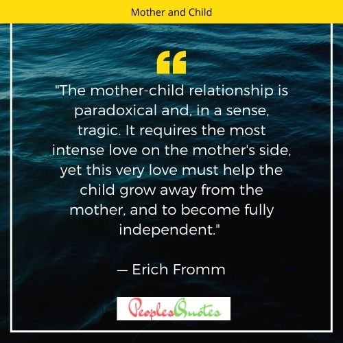 mother-child relationship quote