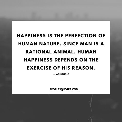 Aristotle quotes on happiness with images