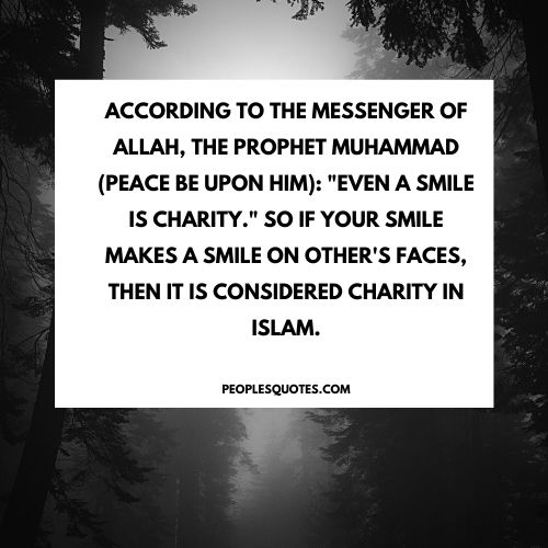 Quotes on Charity by Prophet Muhammad (PBUH)