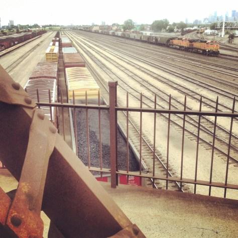 Bruce's trainyard