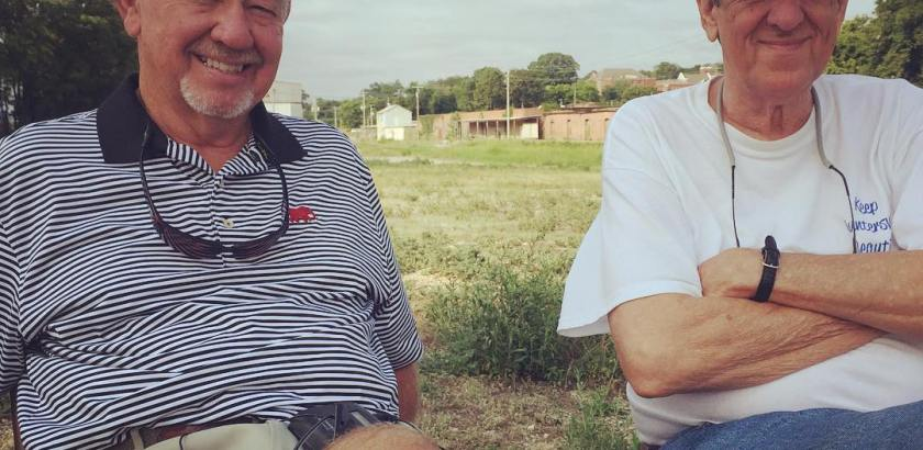 Pete Sparks and Larry Smith, both Guntersville historians, told us about the TVA impounding of Lake Guntersvilke, the Civil War and the Cherokee removals