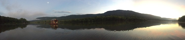 browns lake pano
