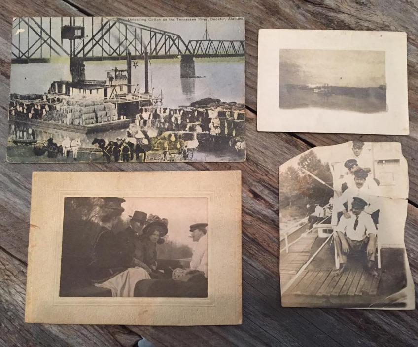 Susan Stewart's grandpa was chief clerk on a packet boat around 1910