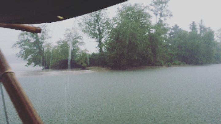 Lost at the rainy end of the world! Next episode of the SHANTYBOAT GUYS