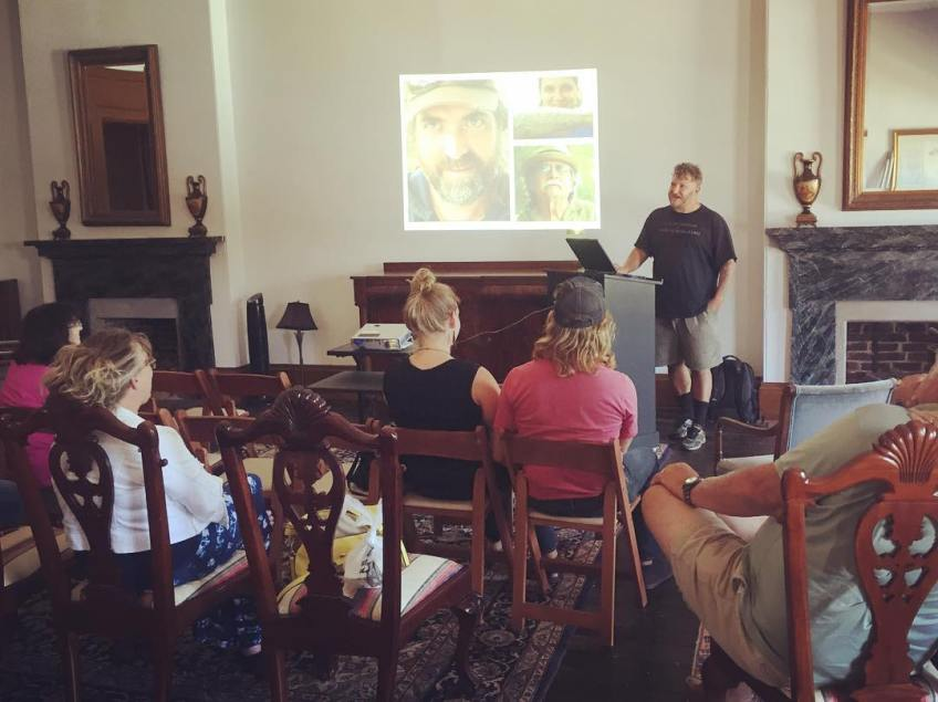 Secret History talk at River Discovery Center, Paducah