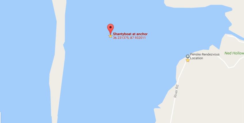 Penske Rendezvous Location