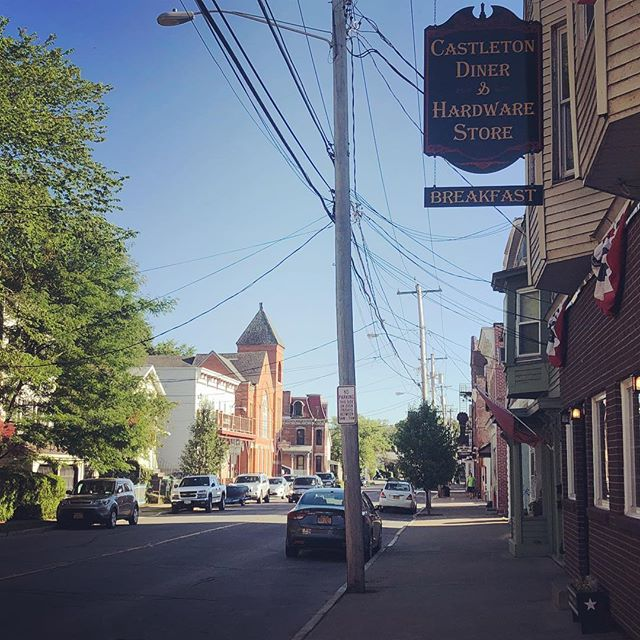 The sleepy little hamlet of Castleton-on-Hudson
