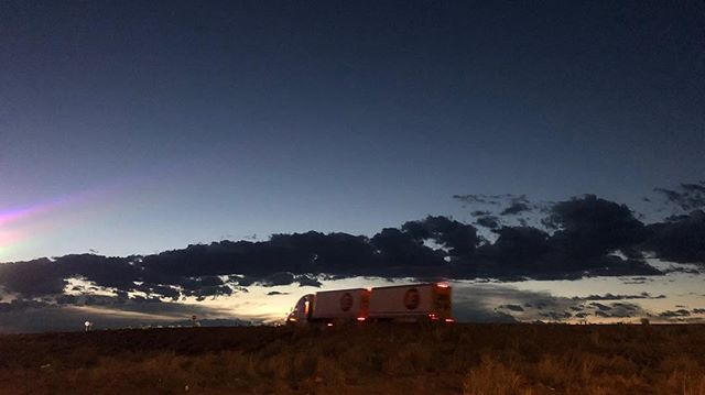 Truck stop near Holbrook Arizona #Shantyboat #RoadTrip #Arizona