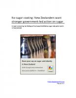 Sugar report 2017