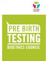 Pre-birth brochure 2007