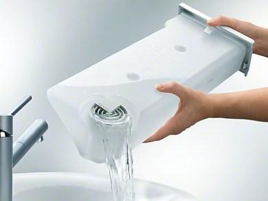 Aprovechar el agua de la secadora