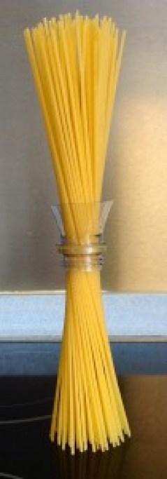 Medir una ración de espaguetis perfecta