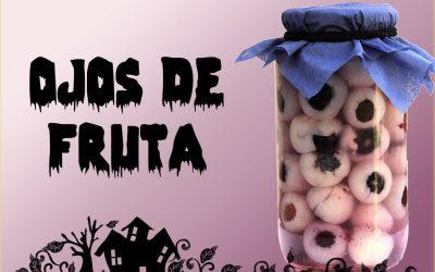 Receta de Halloween: Ojos de Fruta