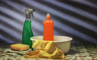 Peligros al mezclar productos de limpieza