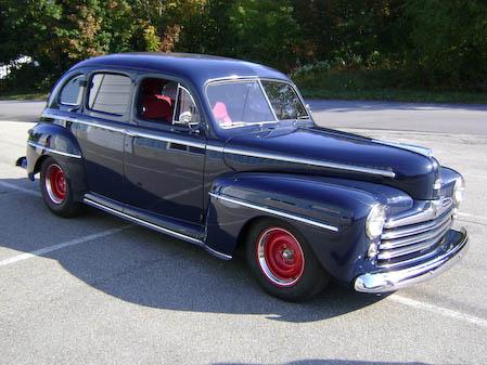 1948 Ford 4Door Blue Sedan  Pep Classic CarsPep Classic Cars