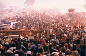 Campo de refugiados de Benako, un hormiguero voraz y retaguardia de un ejército asesino. Foto: LUIS DAVILLA