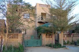 La pensión Hendrina Khan, en Tombuctú, construida por el padre de la bomba atómica del Islam mientras buscaba acuerdos en la zona para el suministro de uranio. (Foto: TripAdvisor)
