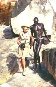 La fotógrafa Leni Riefenstahl documentó con precisión la cultura de las tribus Nuba, en las montañas de Kordofán.