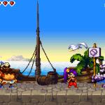 Shantae: Risky's Revenge - Director's Cut Windows  Estos golems te impiden ir a un lugar al que no debes ir (pueden eliminarse más adelante en el juego).