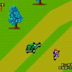 Enduro Racer SEGA Master System  la pista se bifurca