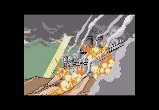 Vay SEGA CD  apertura cinemática, la historia de un asalto alienígena hace más de mil años