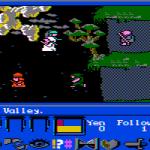 James Clavell's Shogun DOS  explorando el valle (CGA con monitor compuesto)
