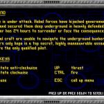 TerraFire DOS Instrucciones