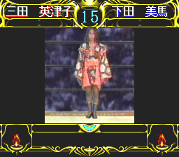 Zen-Nihon Joshi Pro Wrestling: Queen of Queens PC-FX  favorito de la multitud!