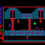 Camelot BBC Micro  encontrado la primera bolsa, pero la condición de mi personaje deja mucho que desear.