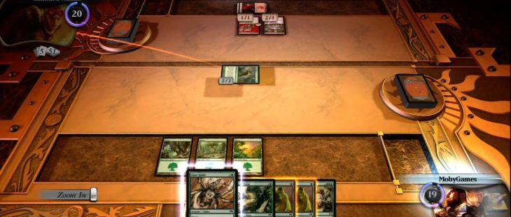 Magic: The Gathering - Duels of the Planeswalkers Xbox 360  Atacando el avatar de tu oponente.