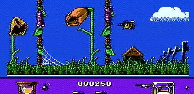 Bee 52 NES  Bichos y otros obstáculos pueden bloquear su camino hacia las flores