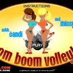 Boom Boom Volleyball Browser  Pantalla de título