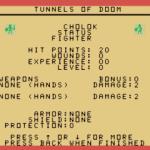 Tunnels of Doom TI-99/4A  Estadísticas