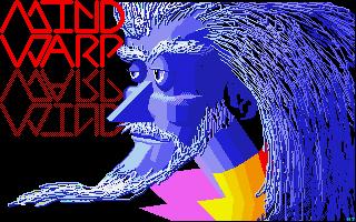 Mind Warp Atari ST Pantalla de título