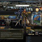 Planetstorm Browser  página de juego