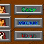 Stalker 1: Path of Fire DOS  Hay tres niveles de dificultad disponibles