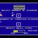 Anticipation NES  Configuración de un nuevo juego
