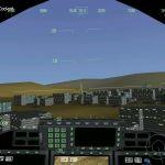 JSF Windows  vuelo de bajo nivel sobre una ciudad