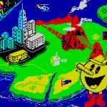 Pac-Land ZX Spectrum  pantalla de carga
