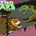 Dino Wars Commodore 64 Pantalla de título