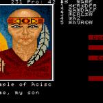 Demon's Winter Amiga  diferentes sacerdotes del templo tienen sus propias imágenes.
