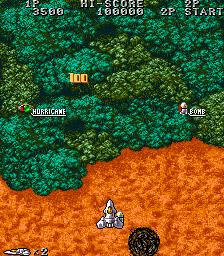 Acrobat Mission Arcade  en el bosque.